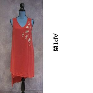 NEW Apt. 9 High Low Asymmetrical Sequin Dress